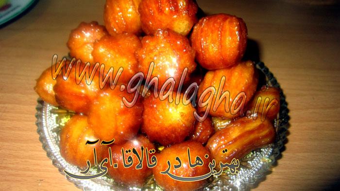طرز تهیه شیرینی بامیه ویژه رمضان