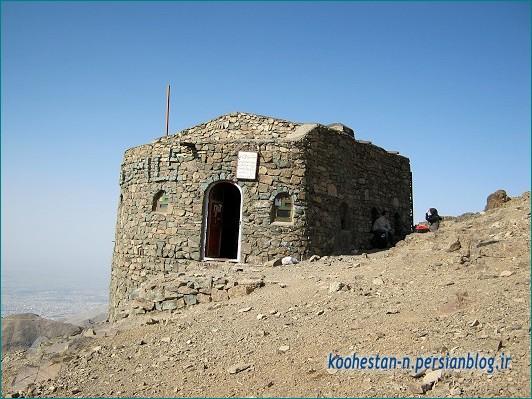 جانپناه امیری در مسیر قله توچال