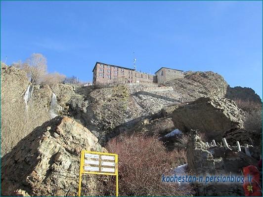 قله توچال از مسیر دربند و شیرپلا