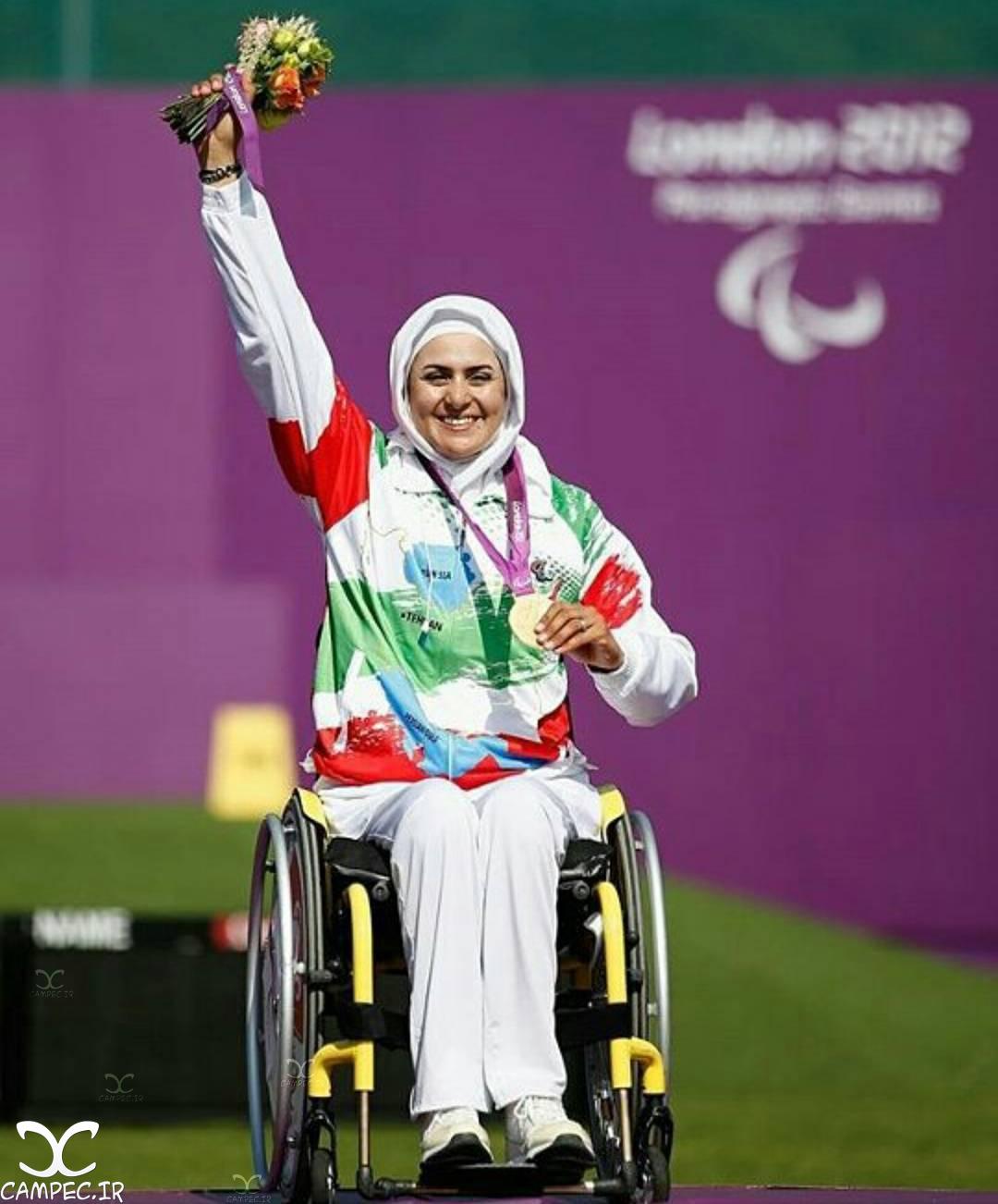 زهرا نعمتی تیرانداز ایرانی