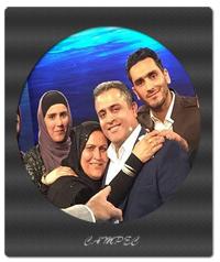 عکسها و قصه امید و مادرش در برنامه ماه عسل