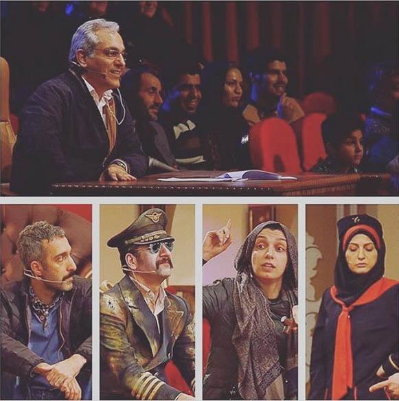 دانلود برنامه دورهمی 20 خرداد 95 با حضور الهام پاوه نژاد و زهرا نعمتی