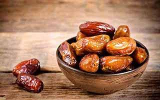 خرما ، بهترین خوردنی برای افطار , رژیم وتغذیه