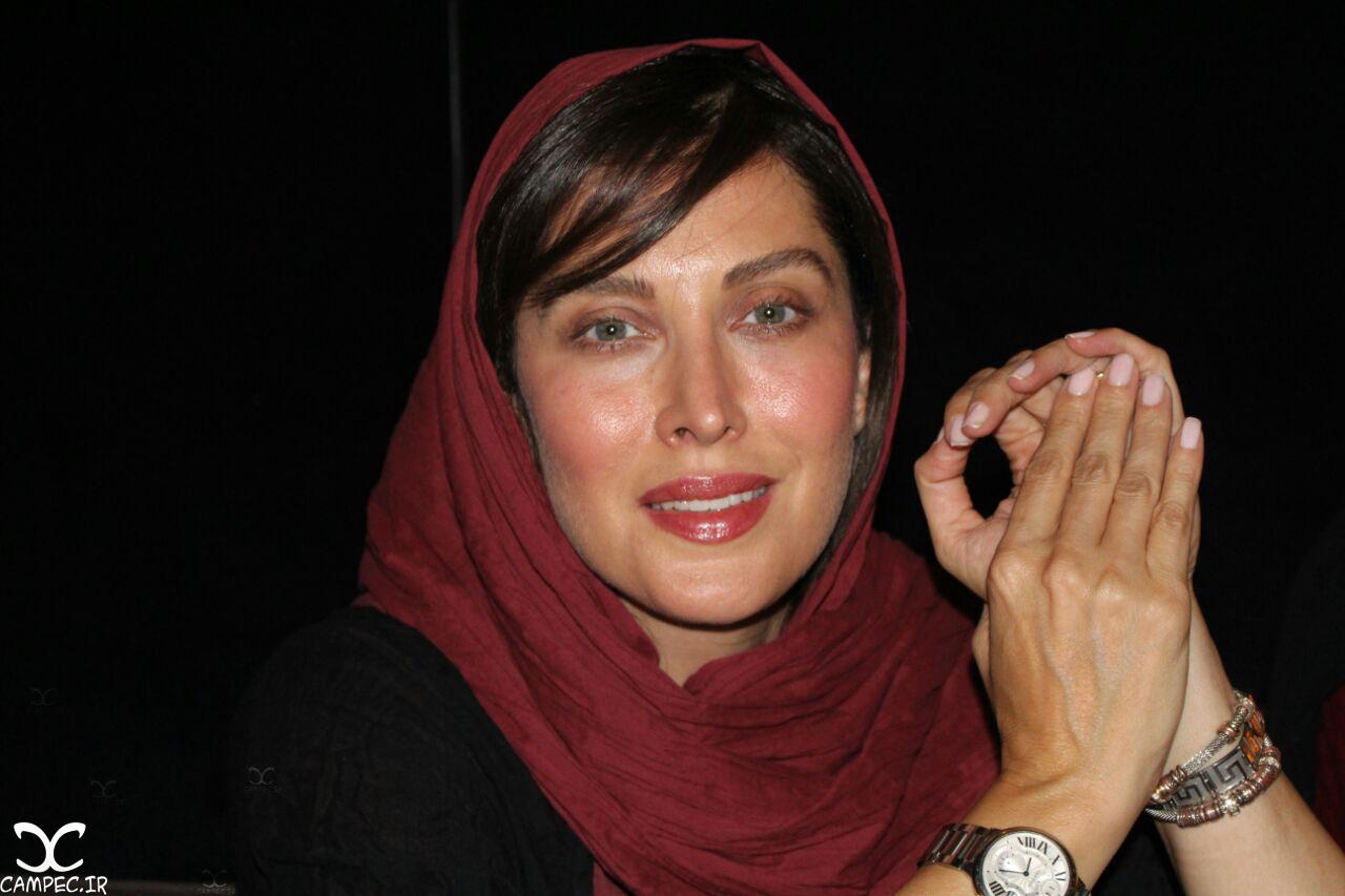 مهتاب کرامتی در مراسم گلریزان فیلم چهارشنبه