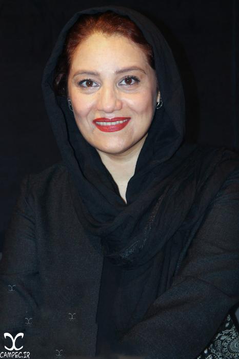 شبنم مقدمی در مراسم گلریزان فیلم چهارشنبه