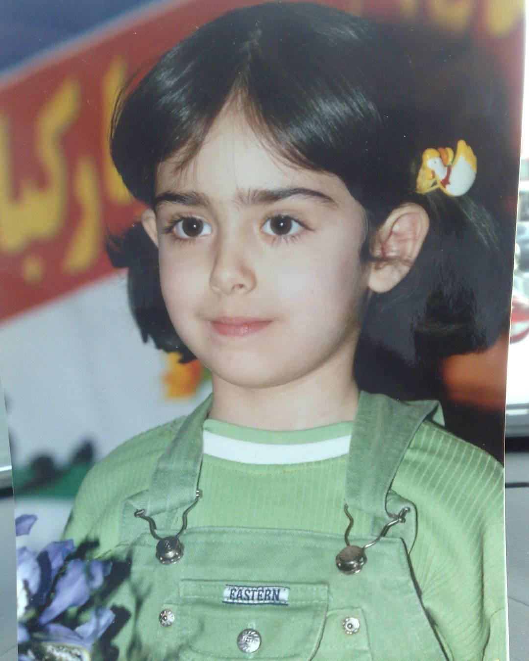 عکس هانیه غلامی در شش سالگی