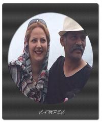 نادر فلاح | بیوگرافی و عکس نادر فلاح با همسر و فرزندش
