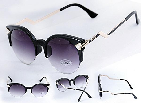 عینک زنانه نگین دار FENDI