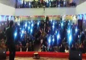 پرتاب چادر به جای کلاه در جشن فارغالتحصیلی دختران یزدی! + فیلم , اجتماعی