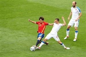 نتیجه خلاصه بازی و گلهای اسپانیا چک دوشنبه 24 خرداد 95