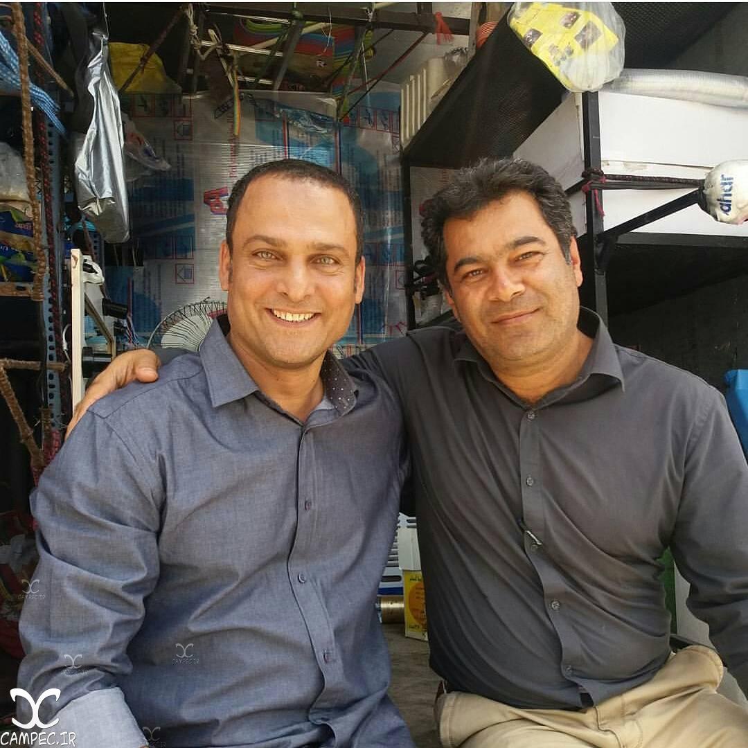 حسین یاری در پشت صحنه سریال برادر