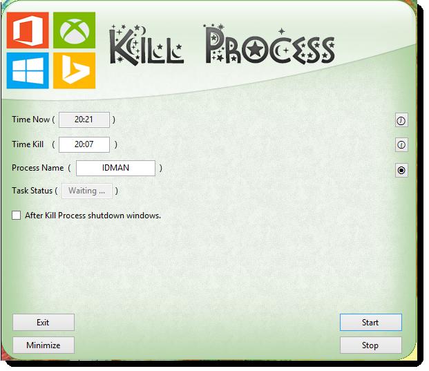 Killer Process - بستن برنامه ها در زمانی مشخص  - YasserDivar