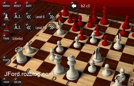 3D Chess Game 2.4.2.0 - بازی شطرنج سه بعدی برای اندروید
