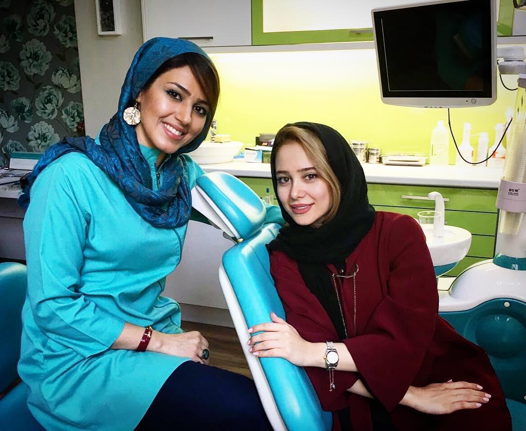 عکس الناز حبیبی در دندان پزشکی , عکس بازیگران