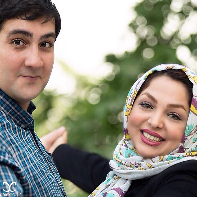 زهرا عاملی و همسرش
