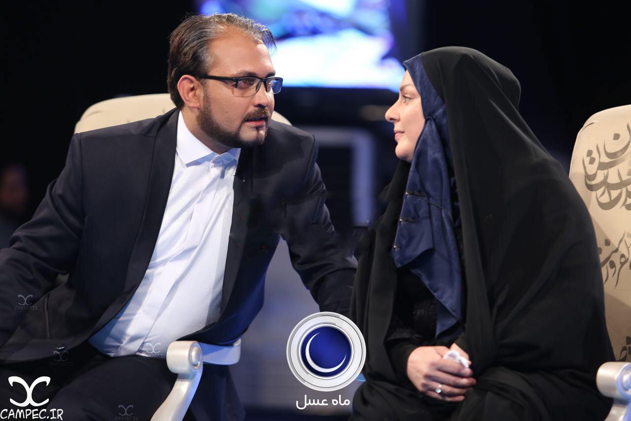 محمد و همسر معلمش در برنامه ماه عسل