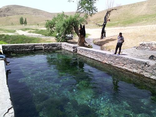 علی بولاغو + چشمه علی + آبگرم خرقان
