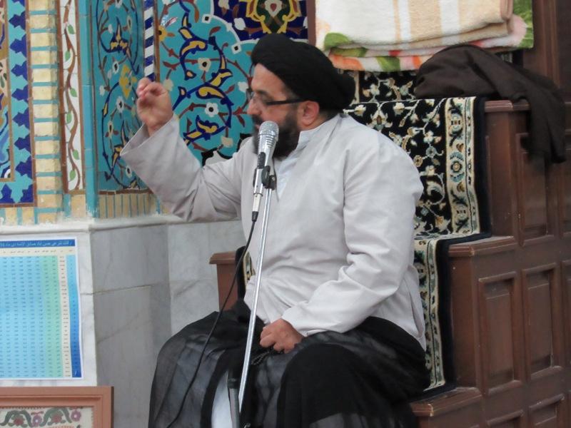 مراسم بزرگداشت حضرت خدیجه(س)مادر امت در محله صادقیون برگزار شد.