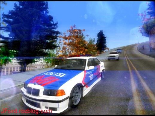 بی ام و پلیس برای جی تی ای 5