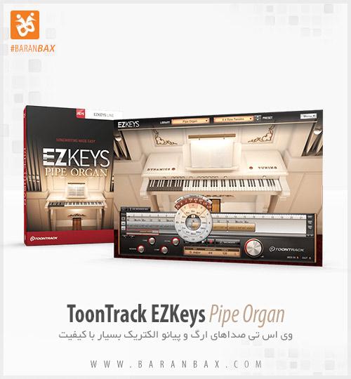 دانلود وی اس تی ارگ Toontrack EZkeys Pipe Organ