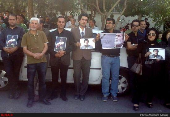 مراسم ترحیم حبیب محبیان با حضور چهرههای هنری در شهرک غرب تهران