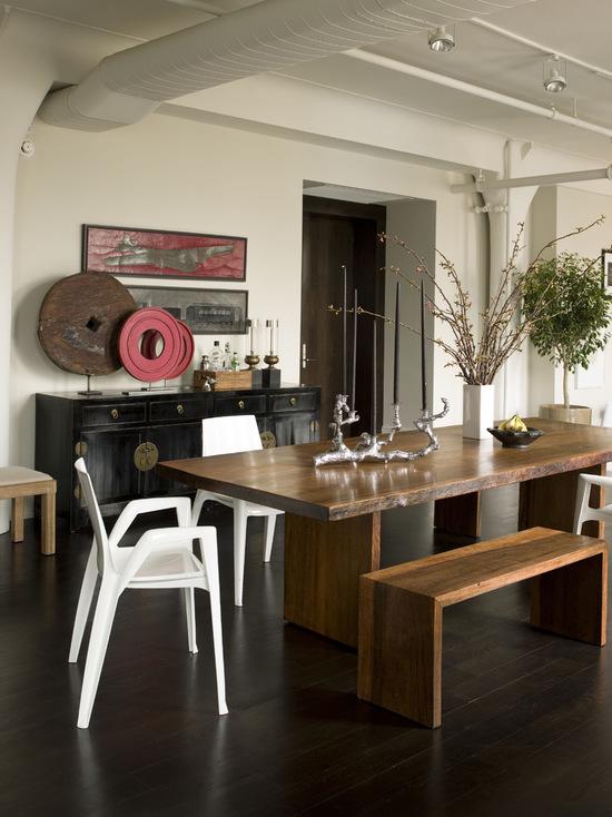 میز و نیمکت نهار خوری