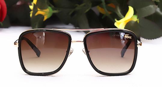 عینک آفتابی مردانه فریم قهوه ایی لاگوست