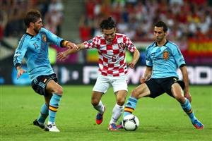 نتیجه بازی اسپانیا کرواسی 1 تیر 95 | گلها و خلاصه دیشب