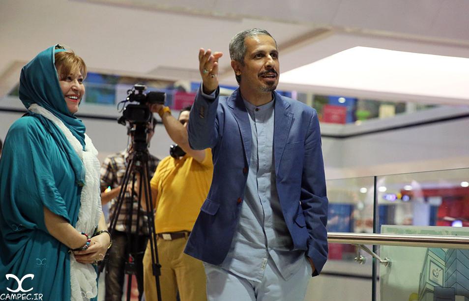 جواد رضویان و اکرم محمدی