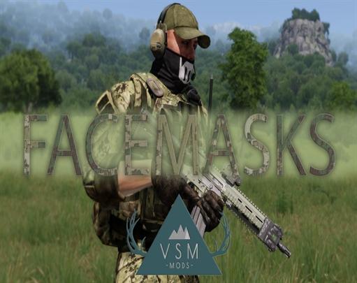 ماسک صورت(FaceMasks) برای Arma3