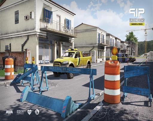 مود موانع و نرده های شهری برای Arma 3(اپدیت شد)