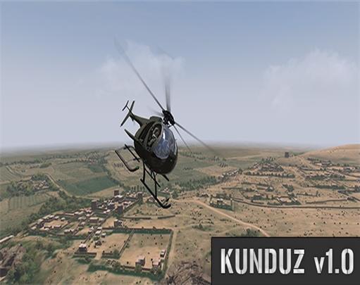 دانلود مپ Kunduz افغانستان برای Arma 3