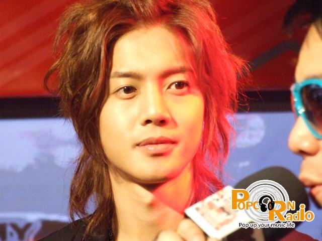 Kim Hyun Joong - Long and Blo.nd hair