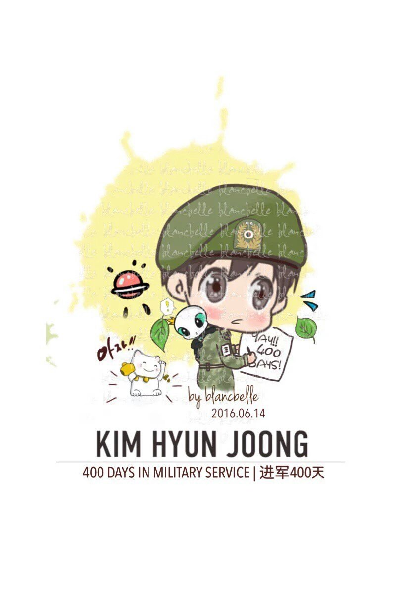 [blancbelle Fan art] 400 Days in Military Service [2016.06.16]