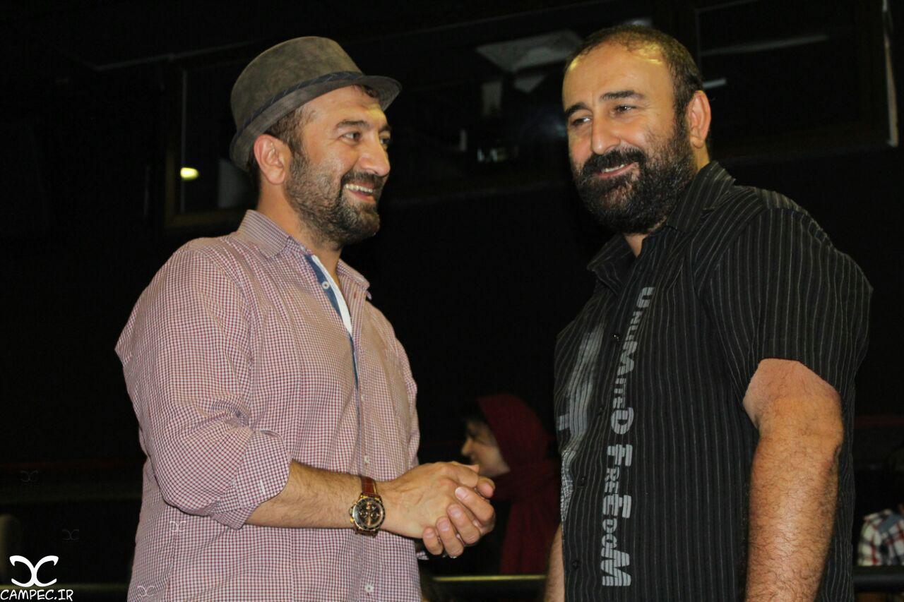 مهران احمدی و مجید صالحی