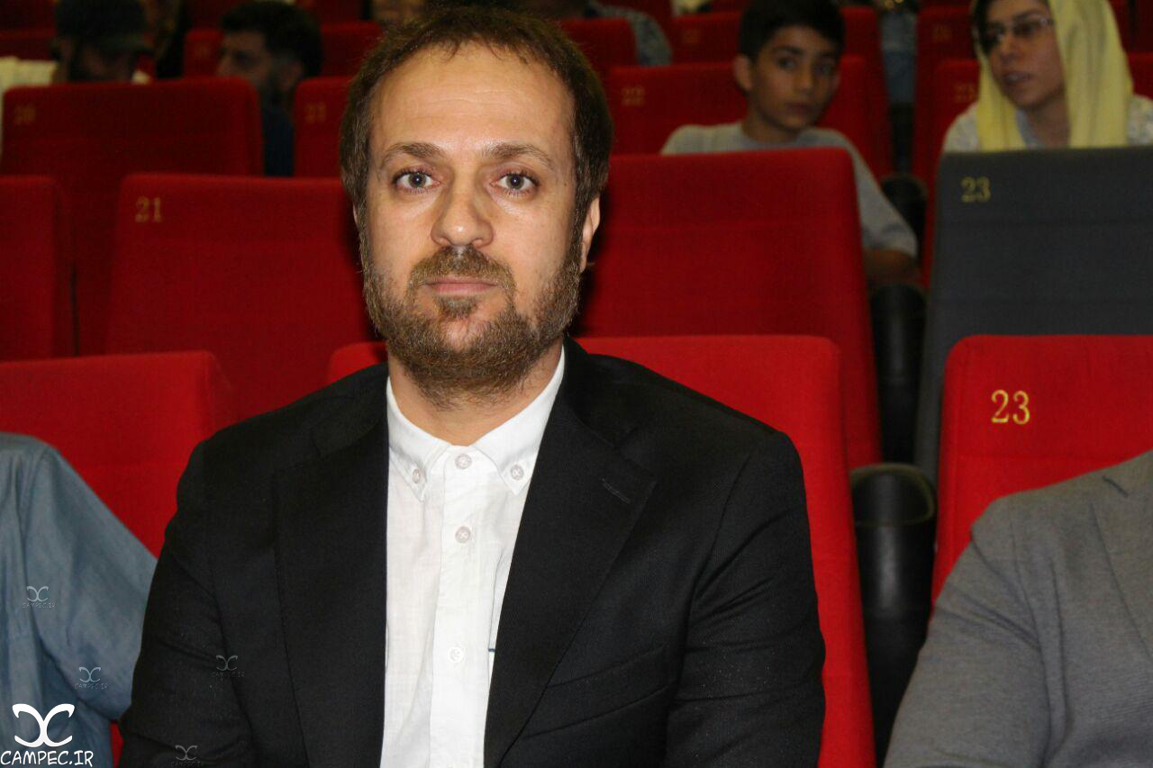 احمد مهران فر در اکران فیلم زاپاس