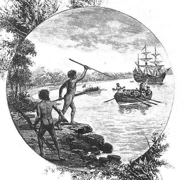 مهاجران اروپایی و بومیان استرالیا