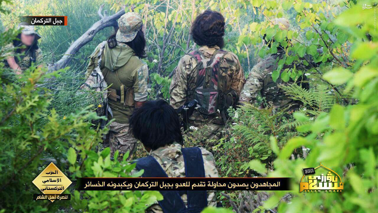 تروریستهای چینی در سوریه