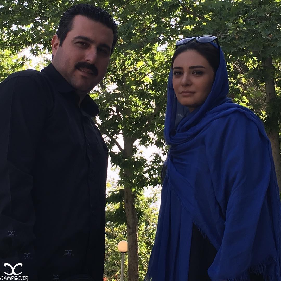 لیندا کیانی و محسن کیایی بازیگران سریال کشیک قلب