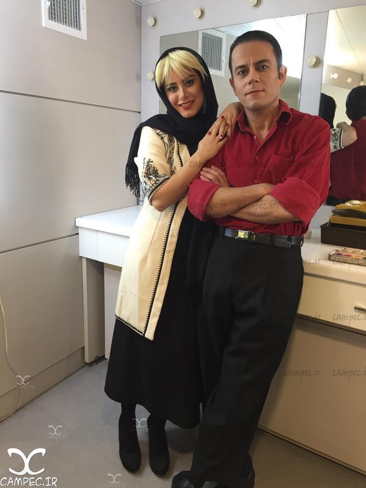 رحیم نوروزی و همسرش آسیه ضیایی