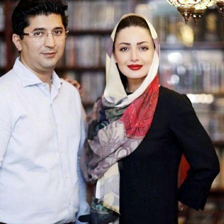 عشق و علاقه شیلا خداداد به همسرش! عکس , چهره های ایرانی