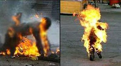 توضیحات شاهدین نشست ها ی خودسوزی های مجاهدین در17 ژوئن 2003 در پاریس