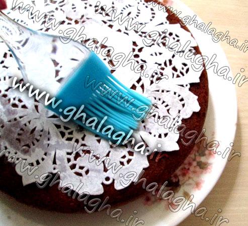 آموزش تصویری طرز پخت کیک بدون فر