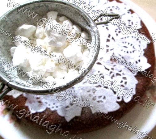 آموزش تصویری طرز پخت کیک بی فر