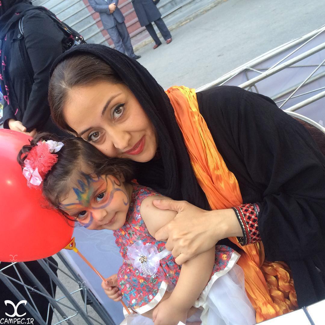 آرزو افشار با دخترش پارمیدا
