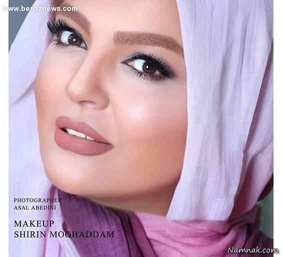 ماجرای مدل آرایشی شدن شهرزاد عبدالمجید