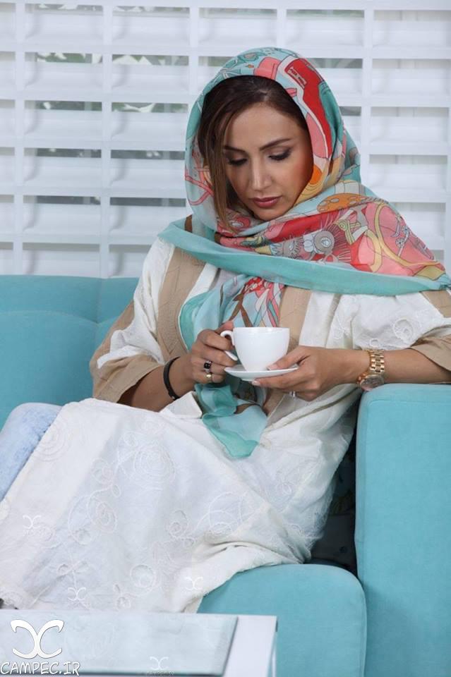 عکس آتلیه ای و زیبای شبنم قلی خانی