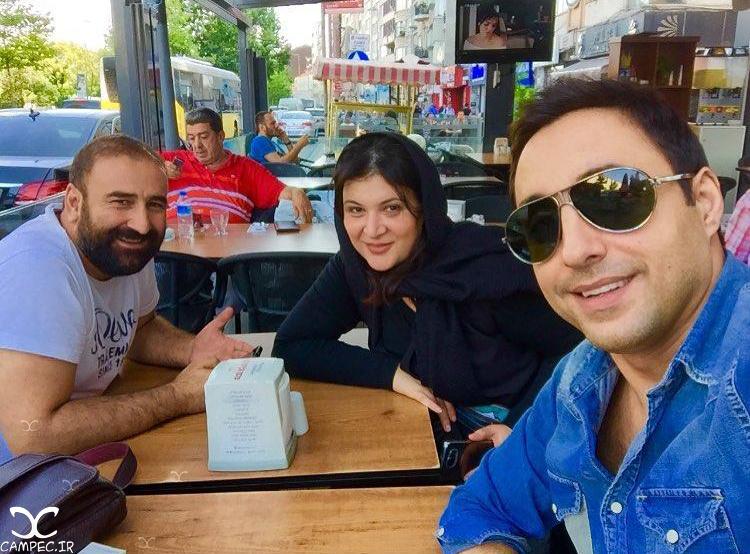امیر حسین رستمی مهران احمدی و ریما رامین فر در ترکیه