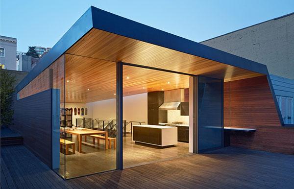 طراحی دفتر خانه گرافیک در سان فرانسیسکو