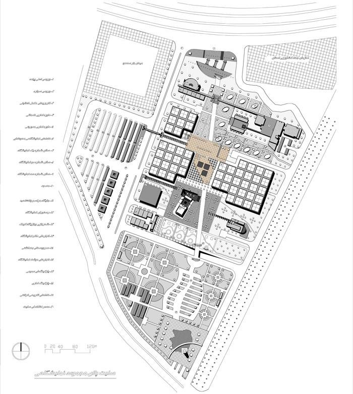 نقشه های اتوکد پروژه نمایشگاه استانی منطقه ای
